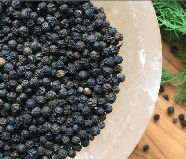 zwarta malabar peper beter voor opname kurkuma bij honden